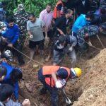 पहिरोमा पुरिएर स्याङ्जाको वालिङमा पाँच जनाको मृ-त्यु, चार जना अझै वे-पत्ता, खोजि कार्य जारी